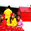 "Debbie Blank | The Herald-Tribune<br /> ""A Charlie Brown Christmas"" was remembered on one of the procession's floats."