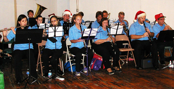 Diane Raver | The Herald-Tribune<br /> The Eureka Band entertained after the parade.