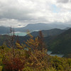 Don's Track leads up a spur to a fabulous view over Queen Charlotte Sound to Waikawa.