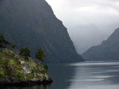 Cruising the fjords
