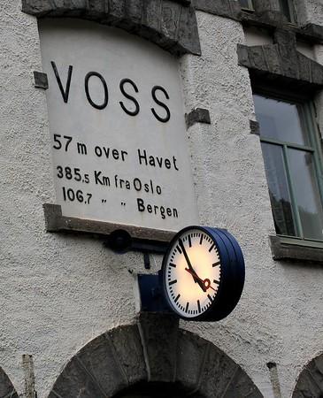 Voss railway station