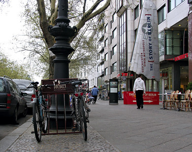 Kurfurstendamm street scene