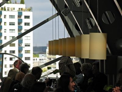 Lunch at Ka De We's spectacular top floor emporium