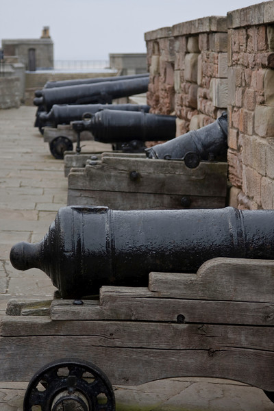 the canons were very impressive