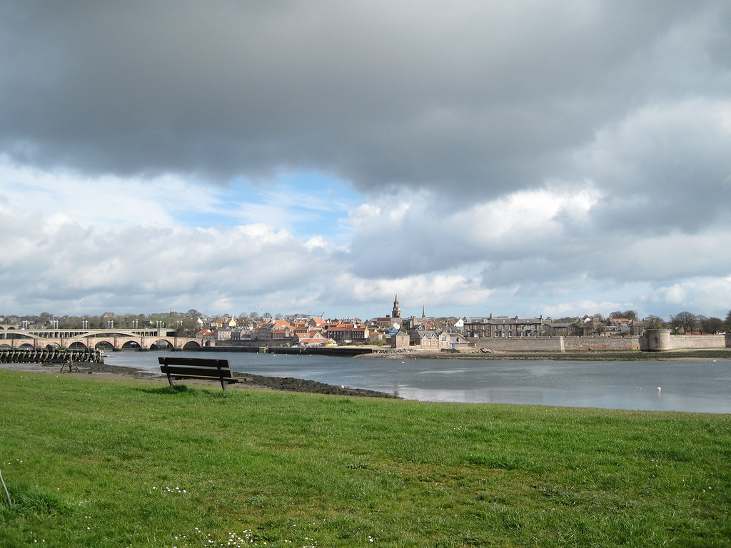 a shot of berwick by lorraine from near the lifeboat station