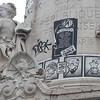 And finally, back to Paris.<br /> The Place de la Republique, now a shrine to Charlie Hebdo,