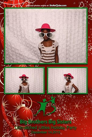 Big Brother Big Sisters Holiday Party 12-14-14
