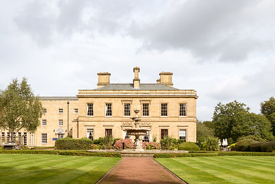 Oulton Hall Rear View