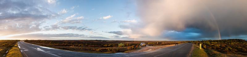 Hincheslea Moor Rainbow Pano