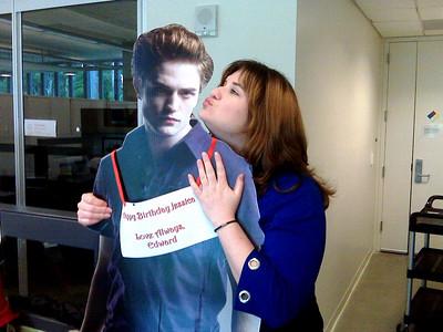 My Edward on my birthday