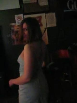 Deena dancing all sexy and stuff