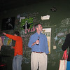 Wall reading at The Dive