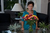 Bert's birthday 2008 St. Pete - flowers sent by Lor-thank you thank you