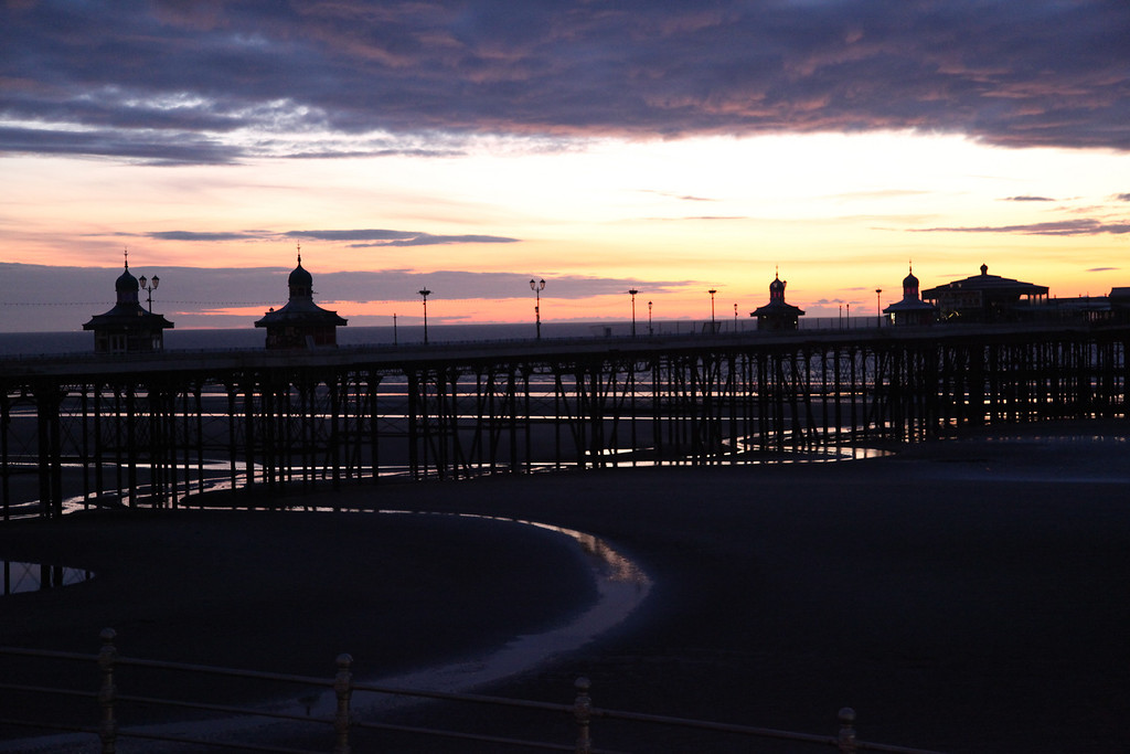 North Pier early evening