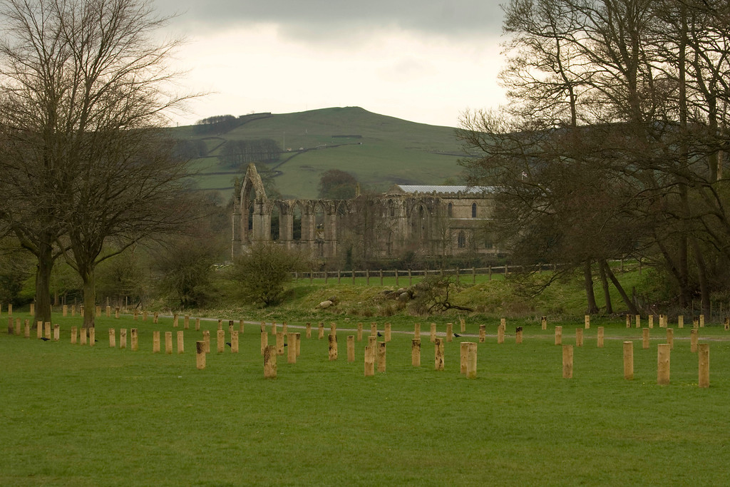 first view of the Priory