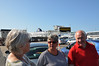Ready to board the P&O ferry at Dover - on our way with our new crew for a week on Bon Viveur