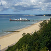June 2011. Bournemouth, Dorset. Looking towards Poole.
