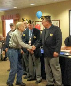 Walnut Woods of Boyertown held a ceremony to honor veterans on Saturday, Nov. 9.