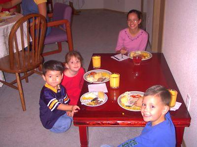 Brant's Birthday Party 2004