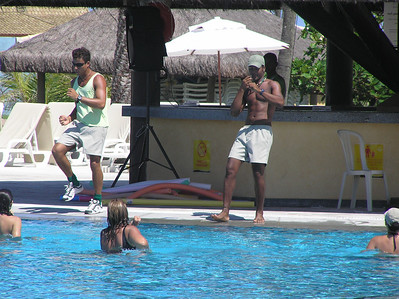 Aqua aerobics at Vile Gale Mares