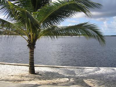 The lagoon in Guarajube