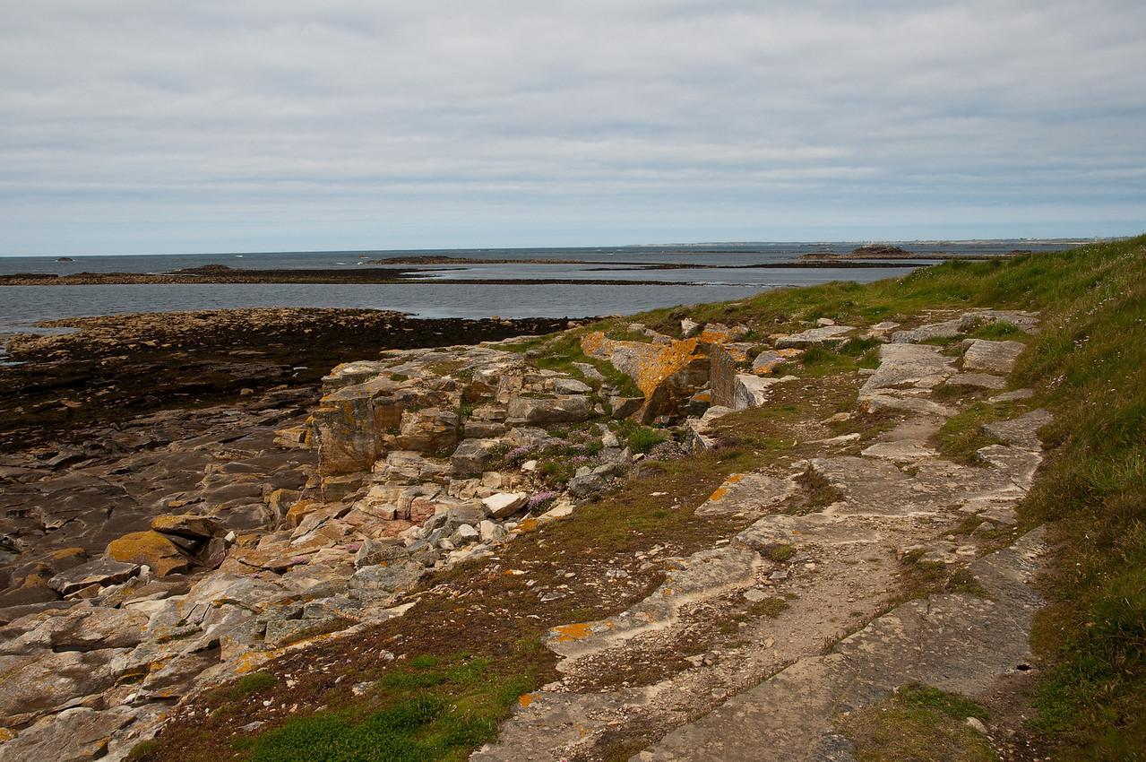 Landscape from Molène