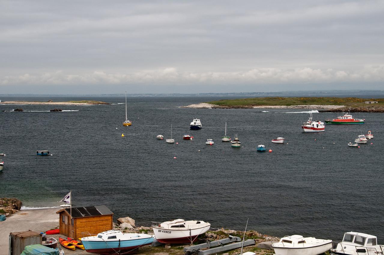 Molène Harbour.