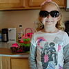 Diva Glasses that came with her cake!