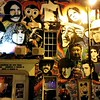 Graffiti mural on the wall of the Prince Albert pub.