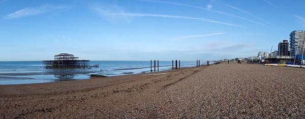 West Pier panorama