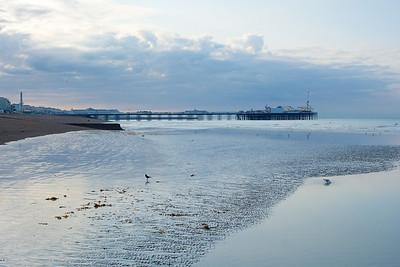 Brighton Pier early morning