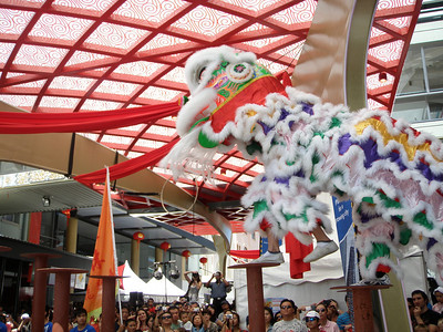 20100214_0510 Chinese New Year, Brisbane Chinatown. Lion Dance