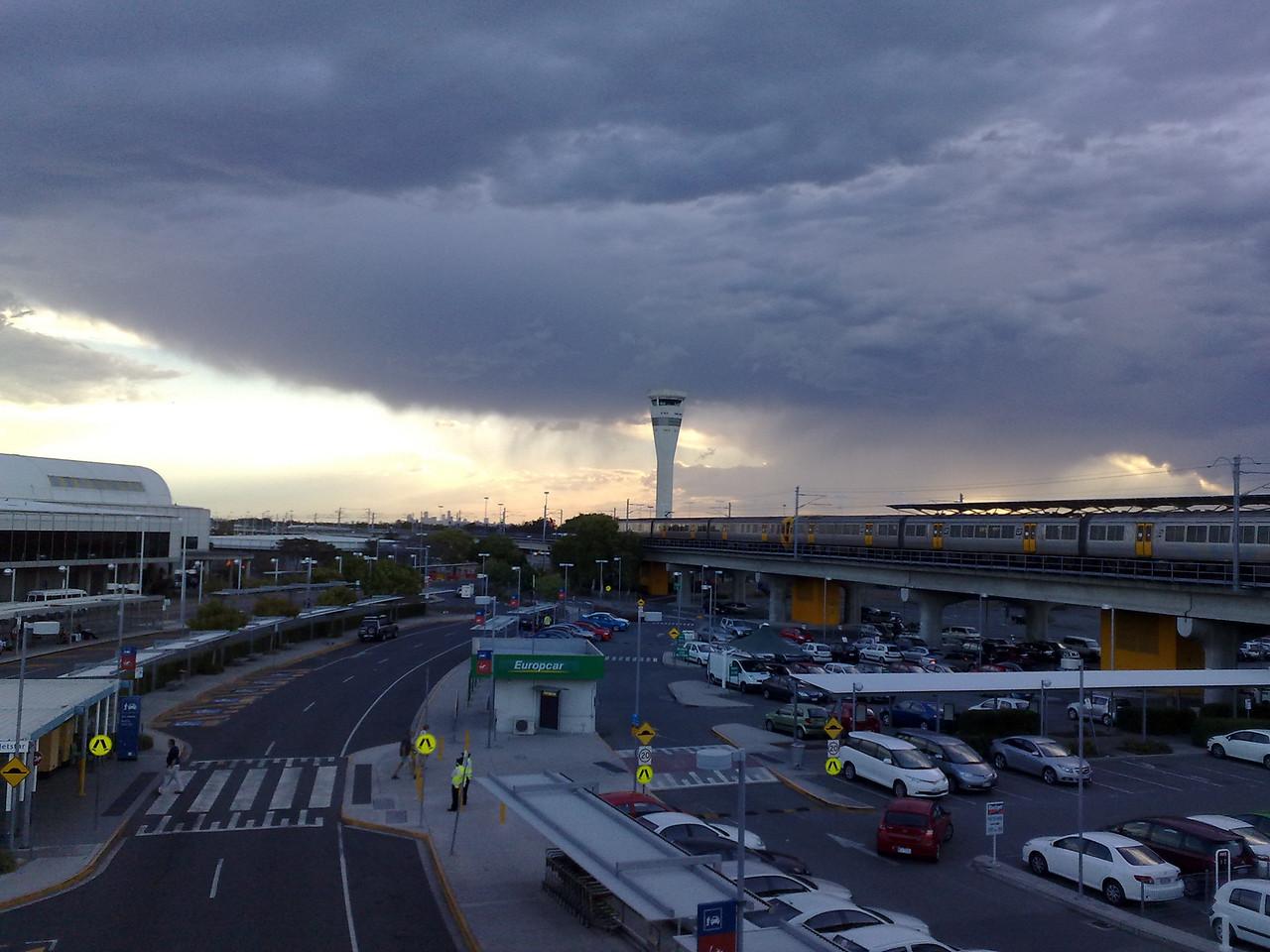 20091024_1807_1036 Storm coming across Brisbane airport.