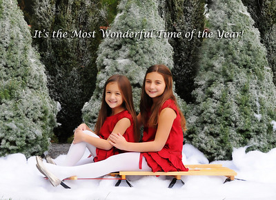 Brooke and Noelle - Holiday Cards
