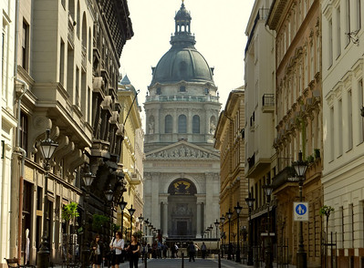 St Stephens Basilica. We went to a recital there one evening, which was very pleasant.