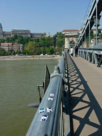 Széchenyi Lánchíd, the Chain Bridge
