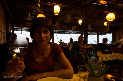 Kimly Restaurant, Crab Market, Kep.