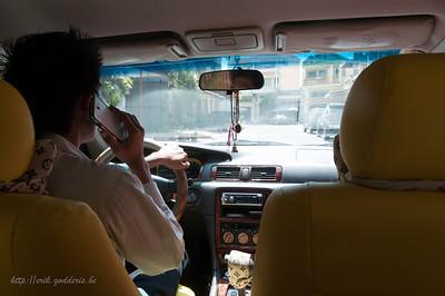 Met de Taxi naar KEP.