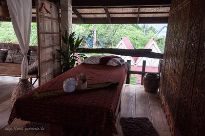 Massage tafel waar dan ook gebruik van hebben gemaakt.  The Mangrove Hide Away