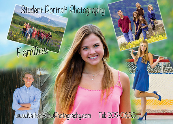 Student and family photo sessions available