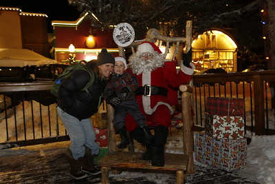 Crested Butte Chamber presents Light Up Night with Santa in the historic town of Crested Butte, Colorado on Friday, Dec. 9, 2016.  (Photo/Nathan Bilow)