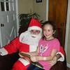 Carlie & Santa