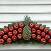 Red Delicious apples and Granny Smith are the mainstays for decorations. They hold up best.