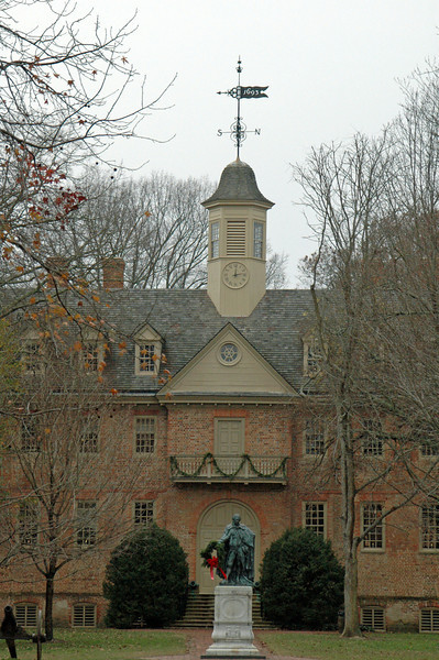 The College of William and Mary in Virginia.