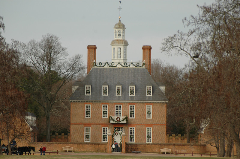 The Governor's Palace. Upon it's completion, the Governor's Palace stood as one of the finest homes of its kind in America, as a physical metaphor of the positive Vice royalty enjoyed in the Capital of England's largest American Colony.