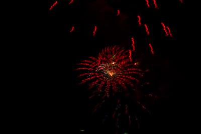Calistoga County Fairgrounds  Fireworks 2016