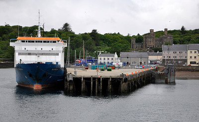 Arriving at Stornoway.