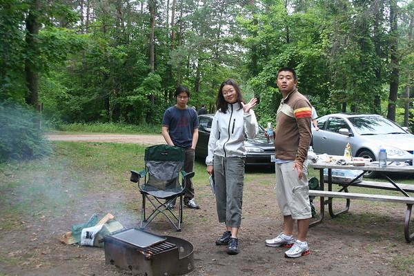 Camping at Earl Rowe