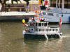 Minature tug boat on The Rideau Canal for Canada Day
