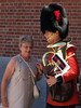 Proud Grandma sees Rob for first time in uniform.